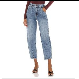 NWT Pistola Maddy Balloon Pleated Pant in Culver